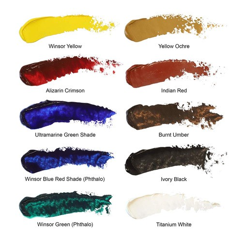 Winsor & Newton Introductory Set Colours