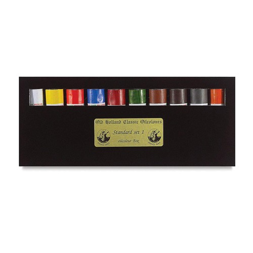 Old Holland Classic Oil Colour Introductory Box Set 10x40ml