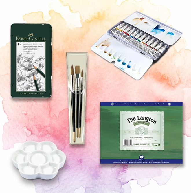 Artist Watercolour Starter Set