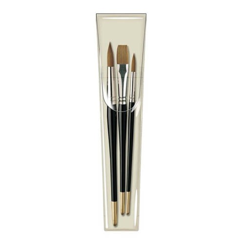 Pro Arte Prolene Wallet One Stroke W5 Brushes
