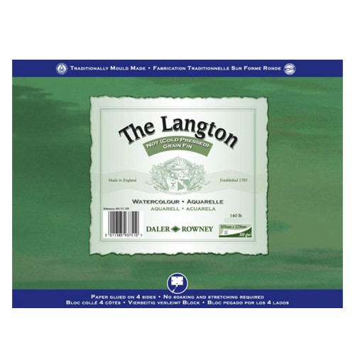 Daler Rowney Langton Watercolour Paper Block