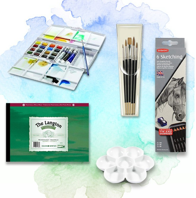 Student Watercolour Starter Set