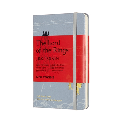 Moleskine Ruled Notebook 9 x 14cm Lord of the Rings The Ents march on Isengard