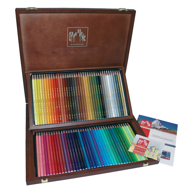 Caran dAche Supracolor Soft Pencils Wooden Box of 80