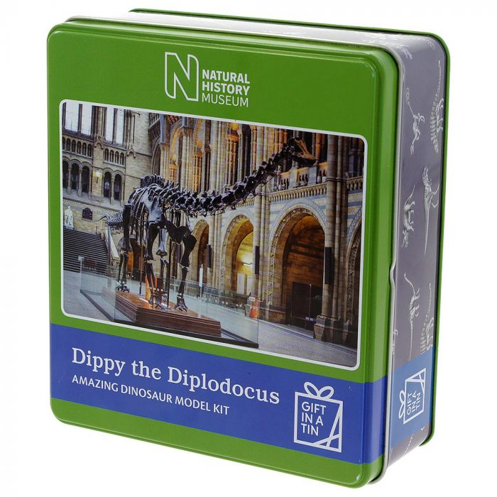 Gift in a Tin Natural History Museum Dippy The Diplodocus