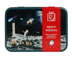 Gift in a Tin Space Station