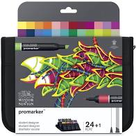 ProMarker 24 in Wallet Student Set