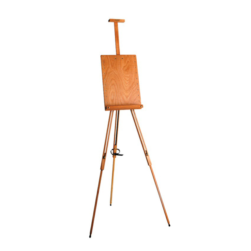 Mabef M/26 Folding Field Easel with Adjustable Panel