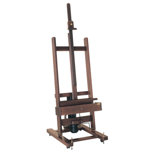 Mabef M01 Studio Easel Dark Wood Electric