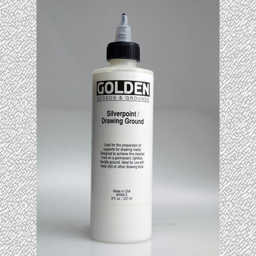 Golden Silverpoint and Drawing Ground 236ml