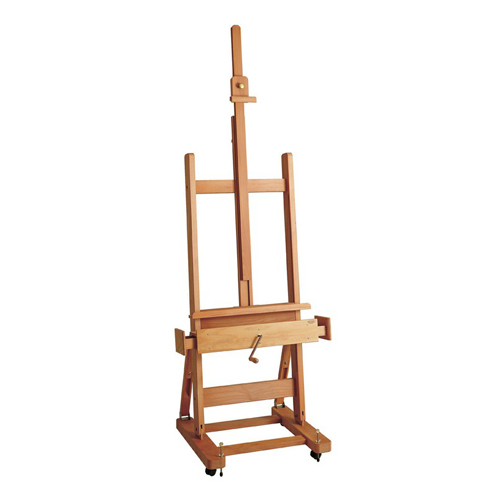Mabef M/01 Studio Easel Oiled Wood