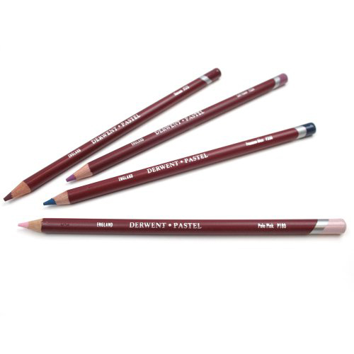 Derwent Pastel Pencils: Aluminium Grey