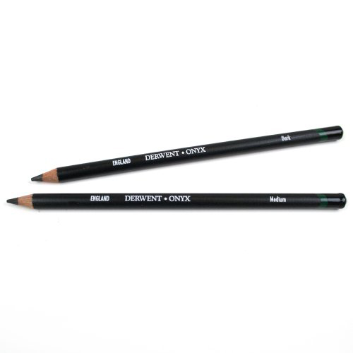 Derwent ONYX Pencils: Dark