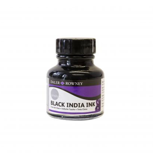 Daler Rowney Simply Black Indian Ink