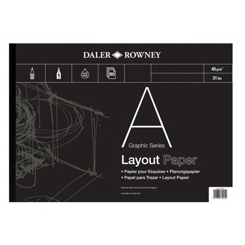 Daler Rowney Layout Pads