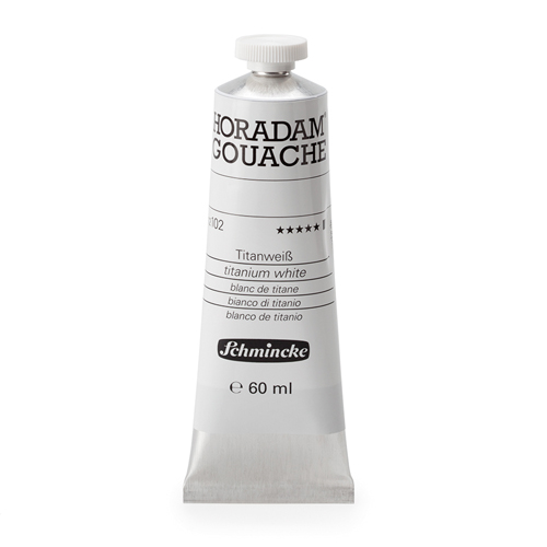 Schmincke Horadam Gouache Paint 60ml: Zinc White