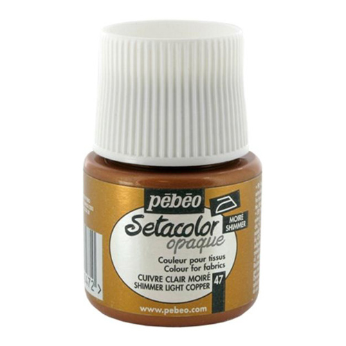 Setacolor Shimmer Opaque Fabric Paints 45ml