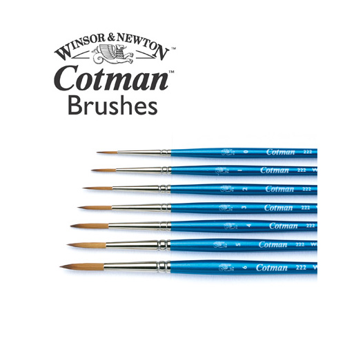 Cotman Series 222 Brush: Size 0