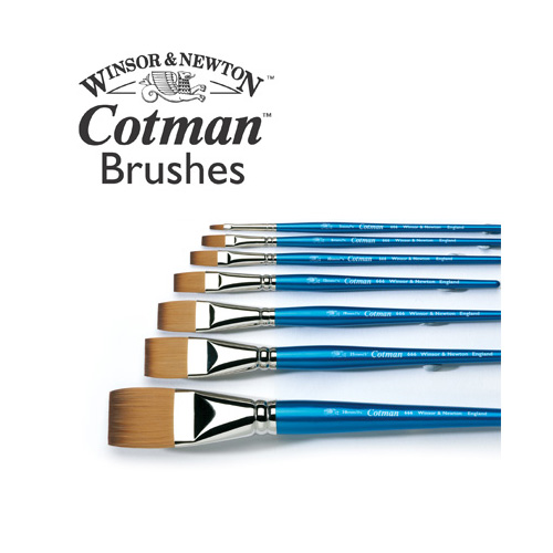 Cotman Series 666 One Stroke: Size 1/2 inch