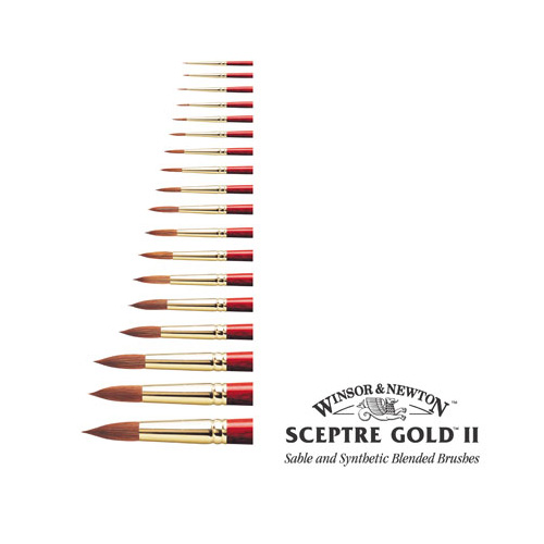 Winsor & Newton Sceptre Gold II Series 101 Brush: No.10