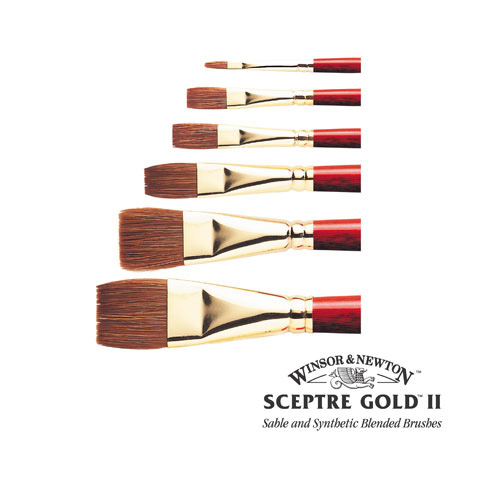 Winsor & Newton Sceptre Gold II Series 606 Brush: 13mm