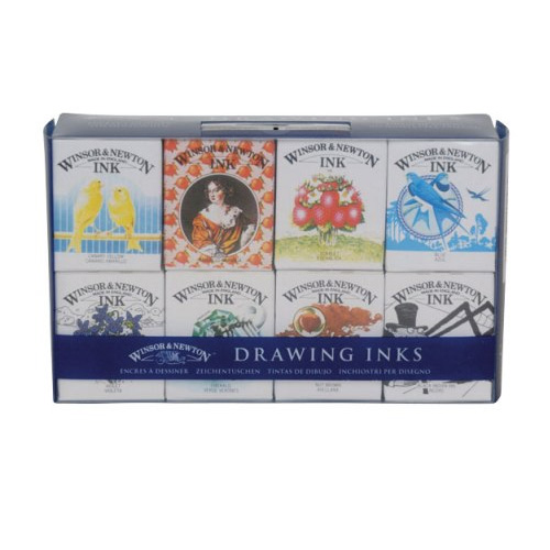 Winsor & Newton Henry Collection Ink Set