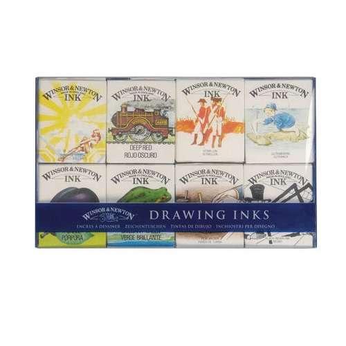 Winsor & Newton William Collection Ink Set