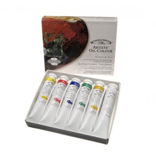 Winsor & Newton Artists Oil Colour Starter Set 6 x 21ml