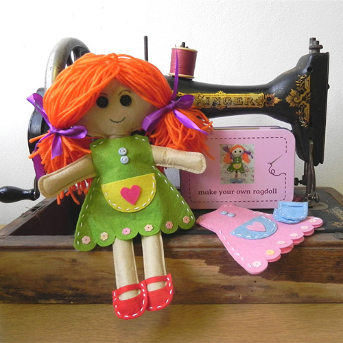 Gift in a Tin Make Your Own Rag Doll
