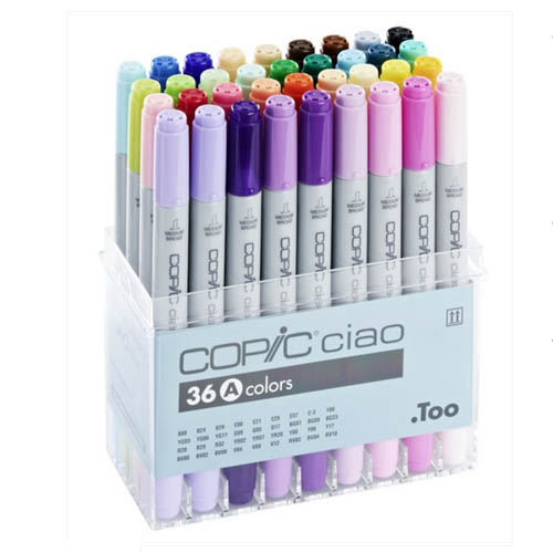 Copic Ciao Markers 36 Piece Set A