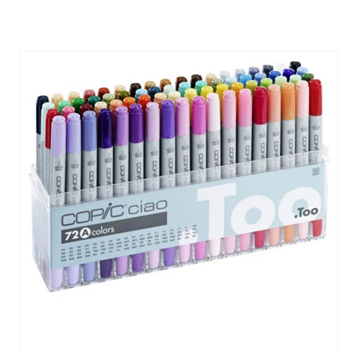 Copic Ciao Markers 72 Piece Set A