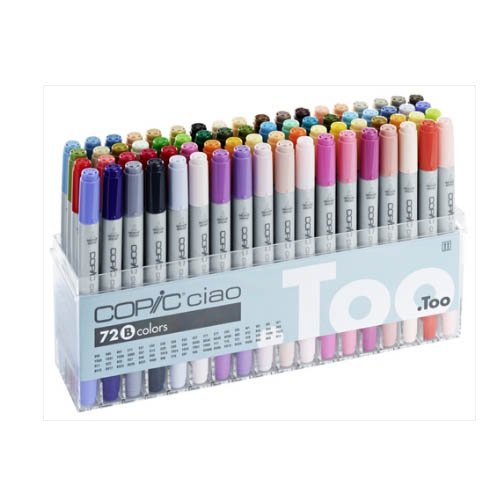 Copic Ciao Markers 72 Piece Set B