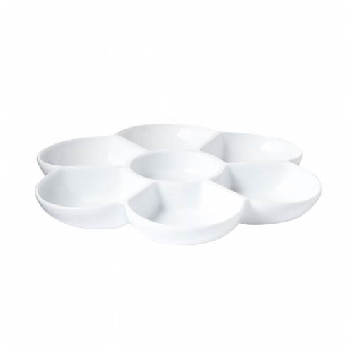 Flower Shaped Plastic Palette