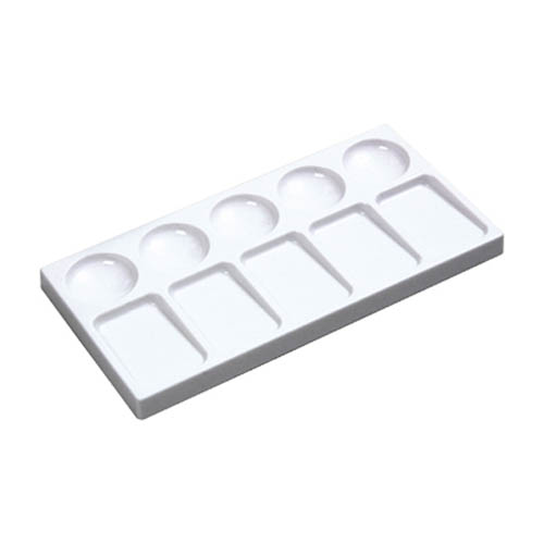 Rectangular Plastic Palette 10 well