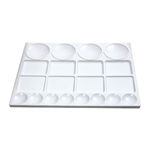 Rectangular Plastic Palette 20 well