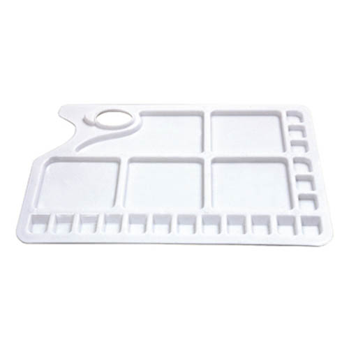 Rectangular Plastic Palette 23 well