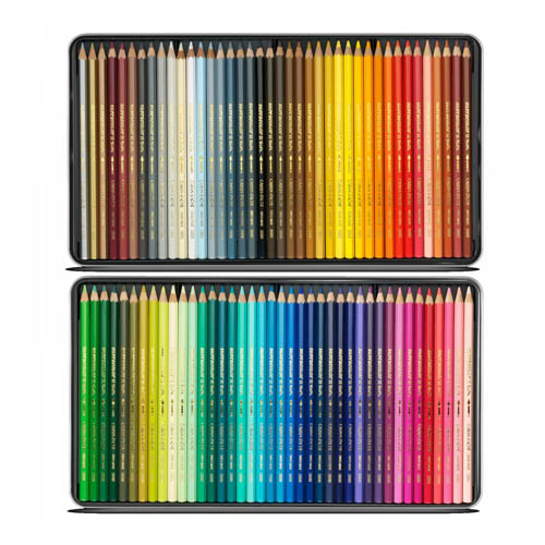 Caran dAche Supracolor Soft Pencils Tin Set of 80