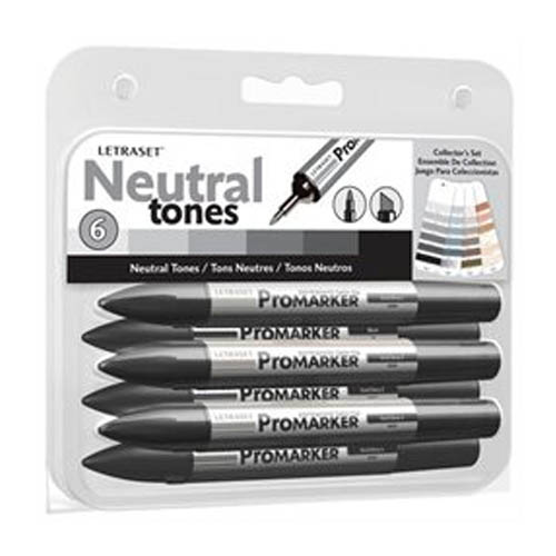 ProMarker Collectors 6 Set Neutral Tones