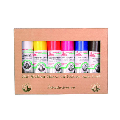 Old Holland Oil Colour Introduction Set 6x18ml