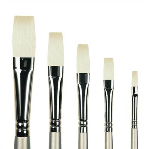Pro Arte Series 201 Sterling Acrylix Long Flat Brush