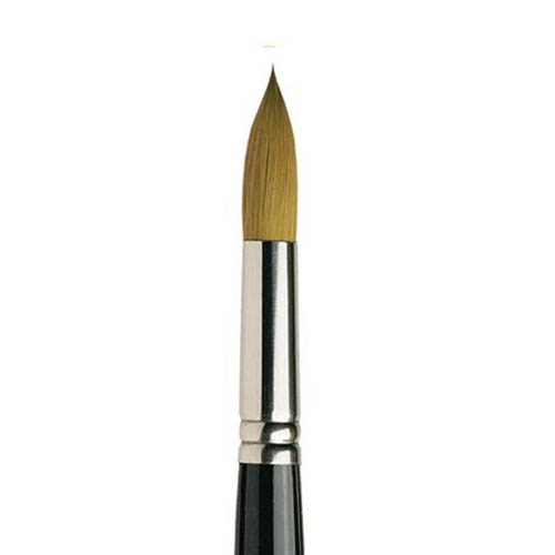 Pro Arte Series 100 Connoisseur Round Brush: No.000