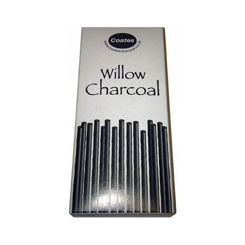 Coates Willow Charcoal Budget Pack 70 Sticks Assorted