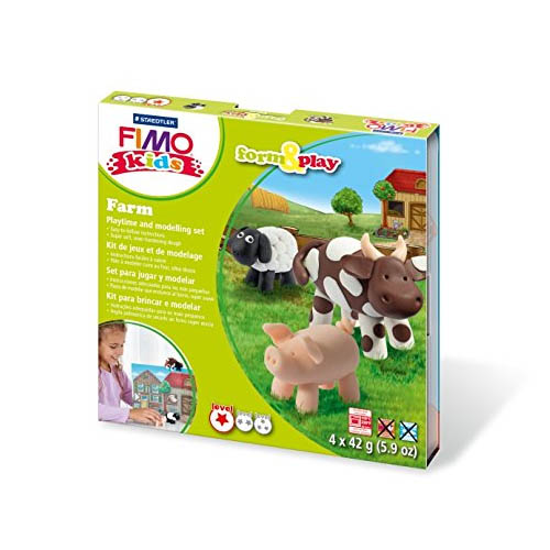 FIMO Kids Form and Play Kits Farm