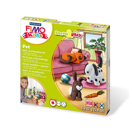 FIMO Kids Form and Play Kits Pets