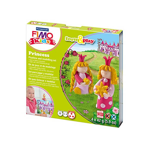 FIMO Kids Form and Play Kits Princess