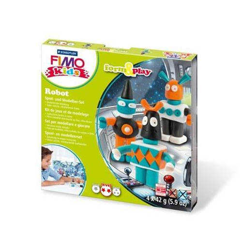 FIMO Kids Form and Play Kits Robots