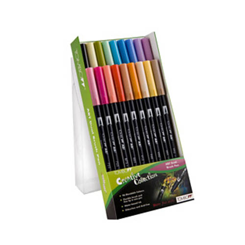 Tombow Dual Brush Pen Set 18pk Secondary