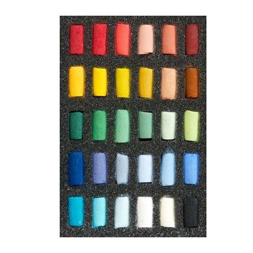 Unison Colour Soft Pastels Half Sticks Set of 30