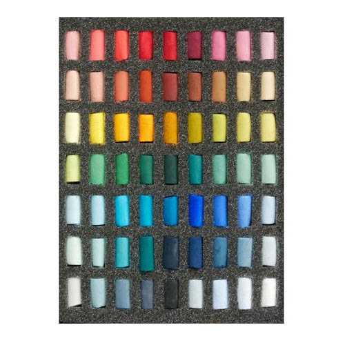 Unison Colour Soft Pastels Half Sticks Set of 63