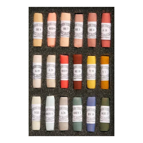 Unison Soft Pastels Set 18 Portrait